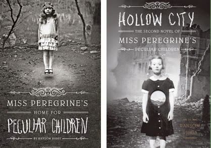Miss Peregrine's Home for Peculiar Children and Hollow City by Ransom Riggs.