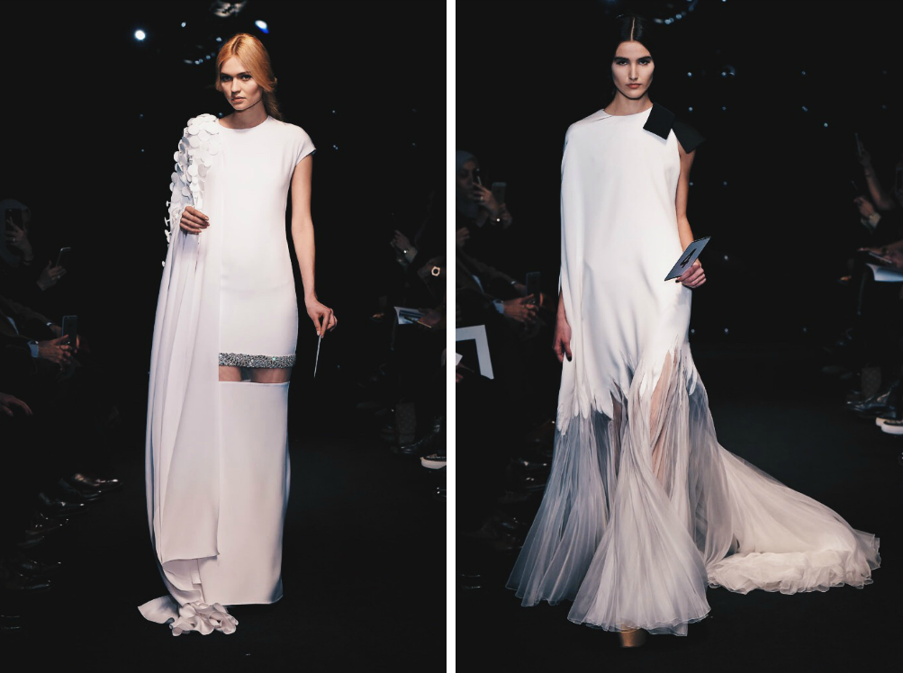 Ana Maddock- Stéphane Rolland Paris Haute Couture Fashion Week SS16