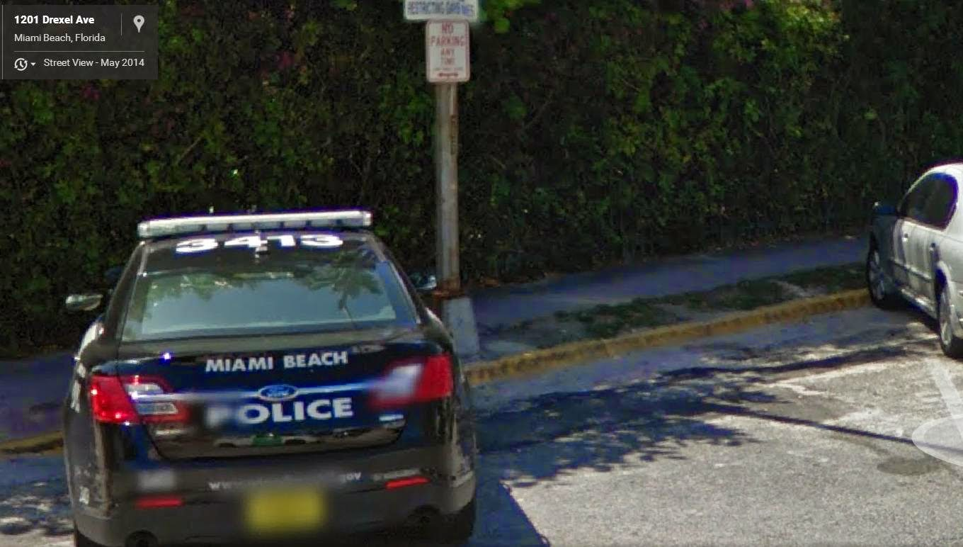 miami beach police no parking anytime