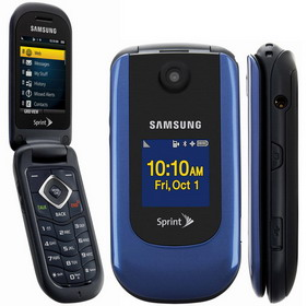Samsung M360 flip phone for Sprint