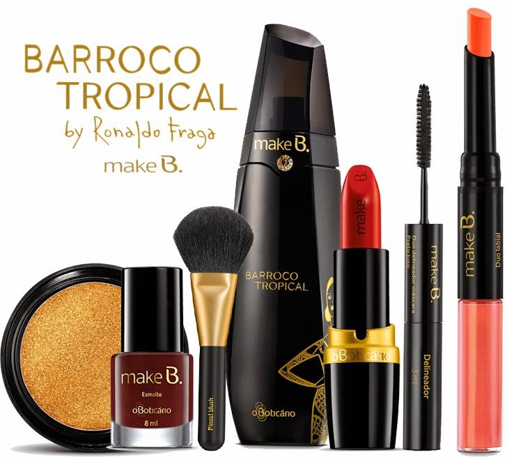 O Boticário Make B. Barroco Tropical