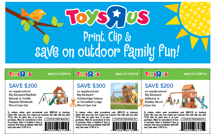 Toys R Us Printable Coupons 2015