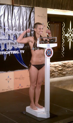 Marianna Kheyfets Reality Fighting Weigh-In