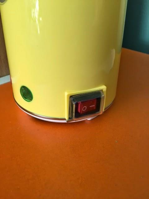 เครื่องทำไข่ม้วน รุ่นใหม่ มีสวิตซ์