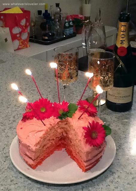 Recipe: Easy Ombre Cake