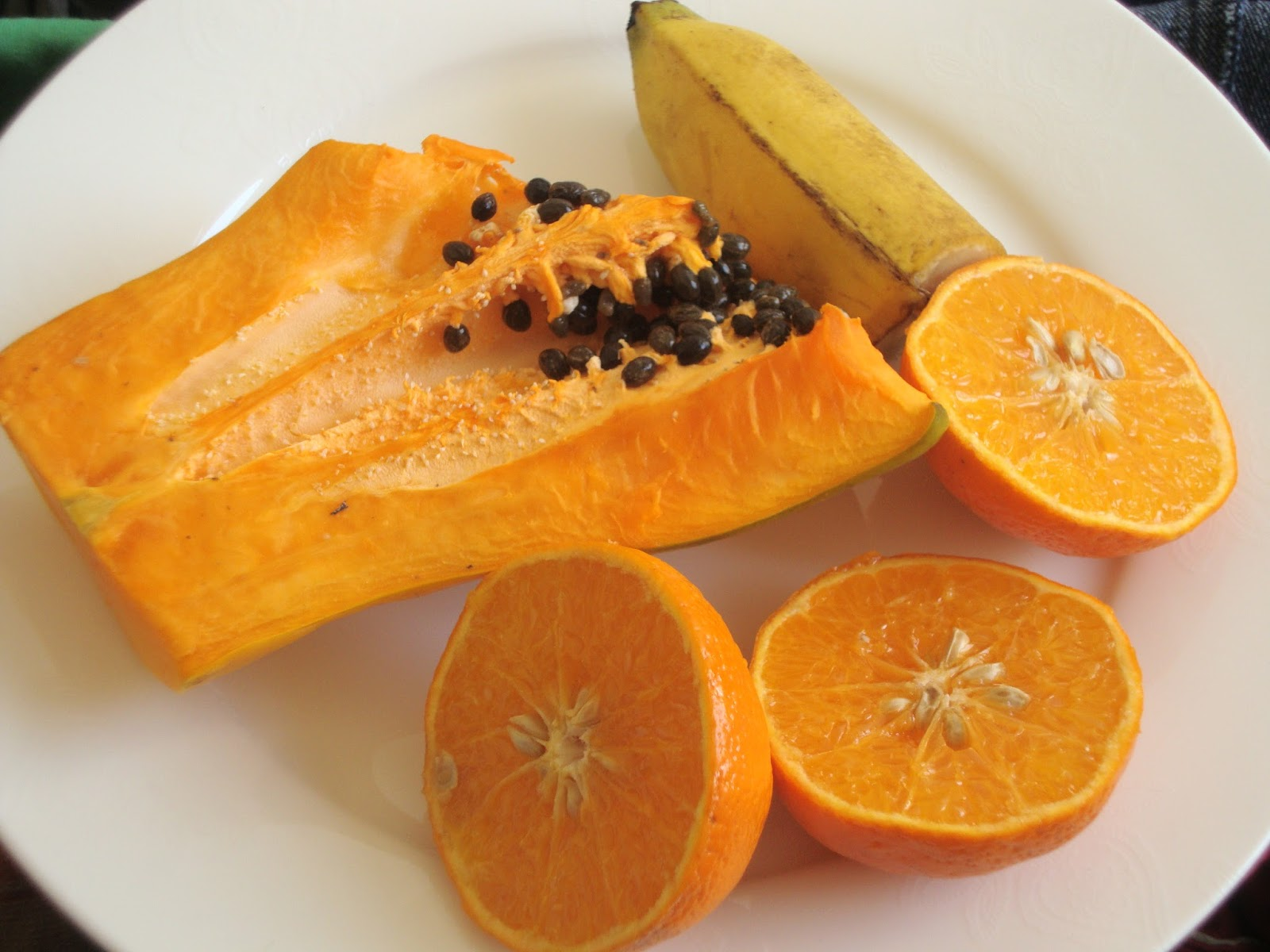 how to put papaya on face