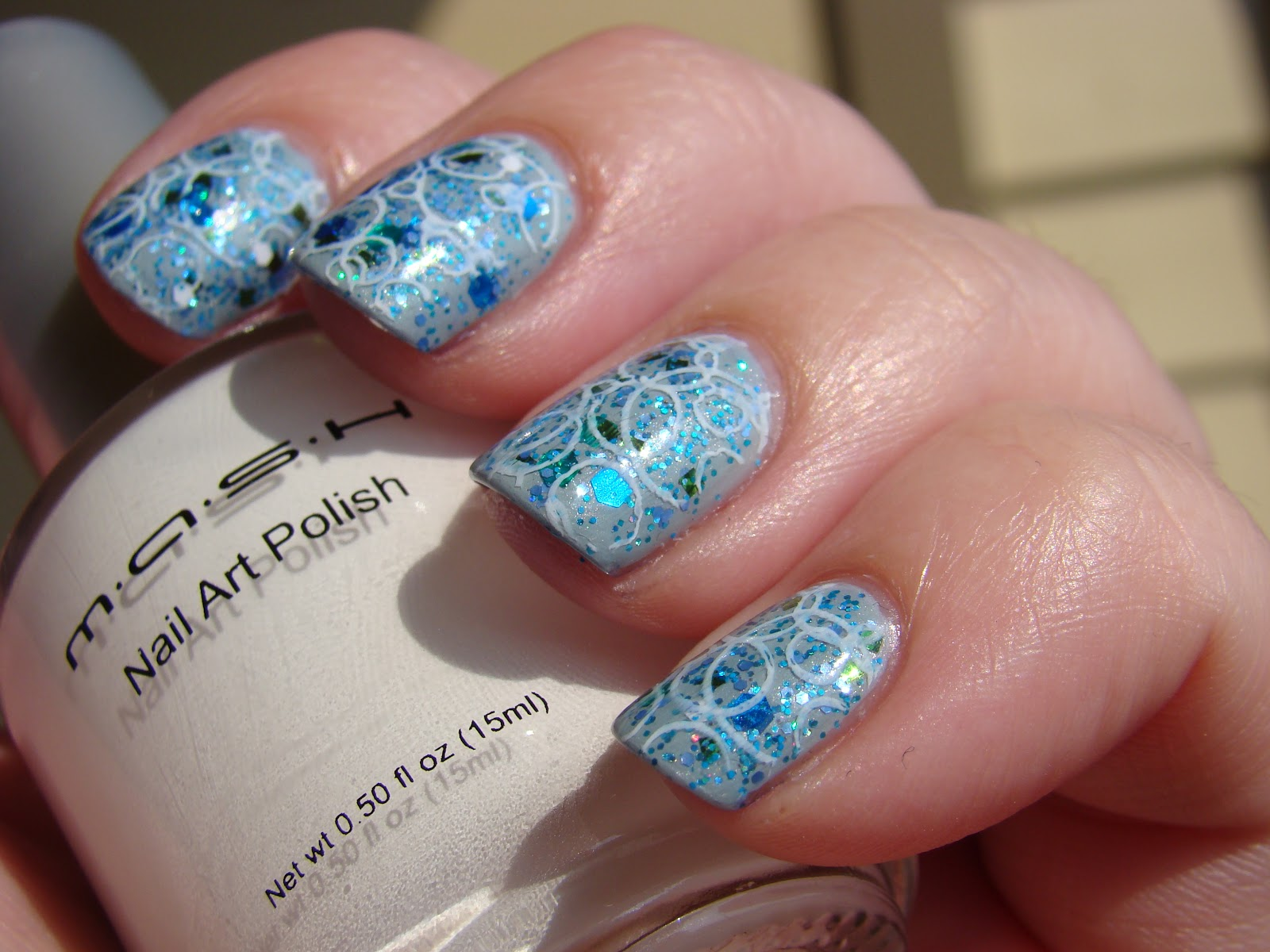 featuring Sonoma Nail Art 20,000 Leagues Under the Sea, MASH Stamping