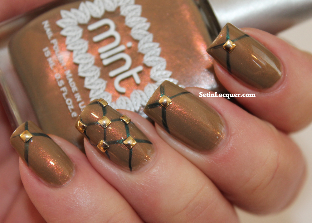 Nail Art Society Accent With Attitude Featuring Hex And Mint Set