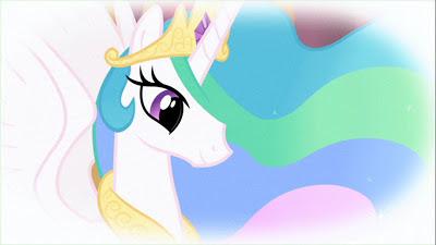 Celestia in Rarity's daydream