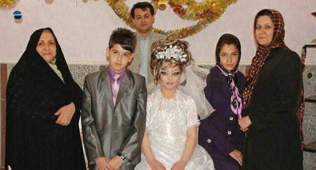 Heboh, Pernikahan Bocah 14 Tahun dengan Gadis 10 Tahun di Iran