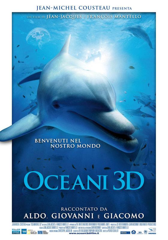 documentario, oceani 3d
