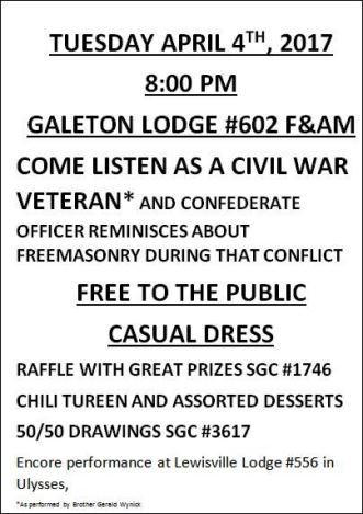 4-4 Come Listen As A Civil War Veteran