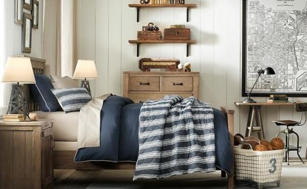 Dormitorios estilo industrial para chicos dormitorios - Dormitorios juveniles con estilo ...