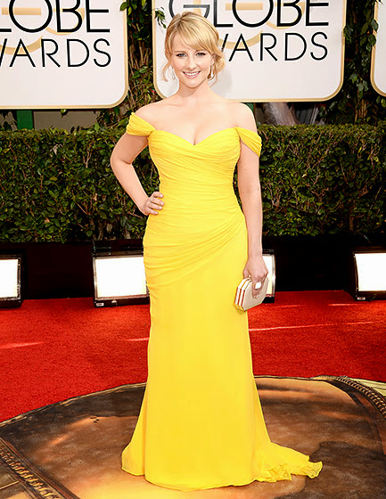 Melissa Rauch in Golden Globes 2014