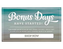 Bonus Days Promotion