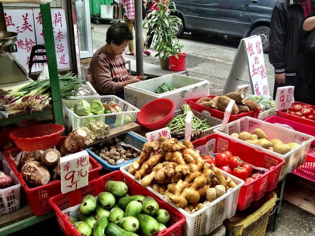Gage Street Market - Vegetable Stall