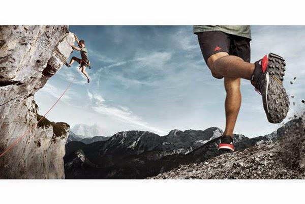 zapatillas adidas outdorr Terrex Boost hombre carrera alta montaña