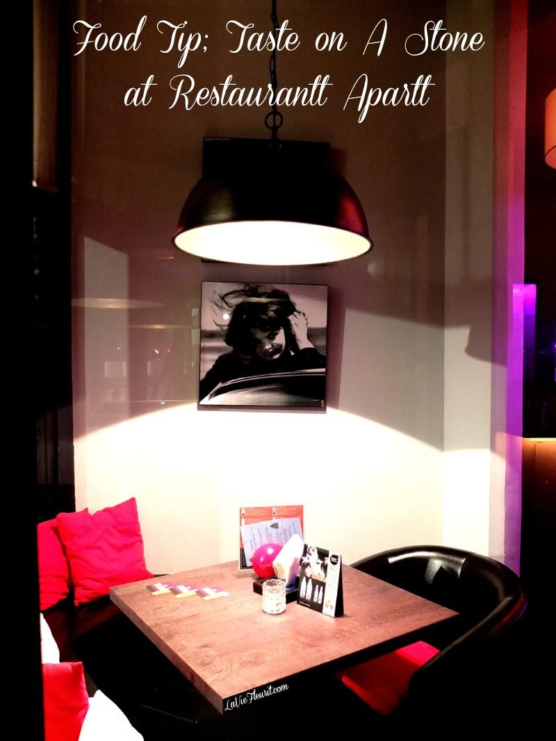 Hotspot | Sizzling granite stones at Restaurant Rotterdan APARRT, Lifestyle, Hotspots, Food, Eten, Restaurant, Blaak, Oudehaven, Tip, Must Visit, Cocktails, Concept, Bar, Lifestyleblogger, Foodblogger, LaVieFleurit.com, Blog, Blogger, Fleur Feijen