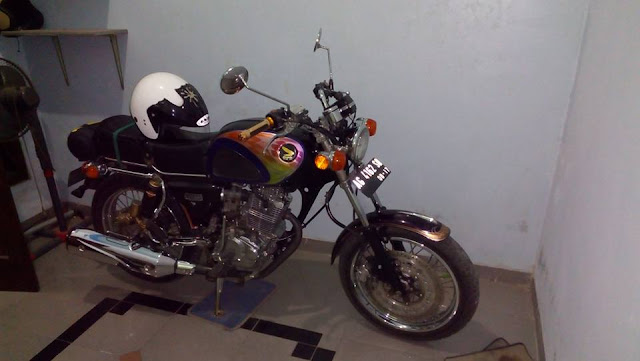 Modifikasi Honda CB Dream basic GL max 97