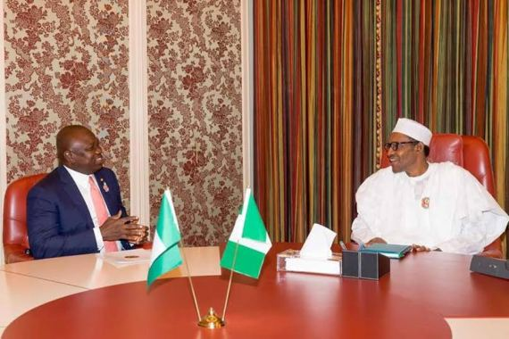 Photos: Governor Ambode pays courtesy visit to President Buhari in Abuja