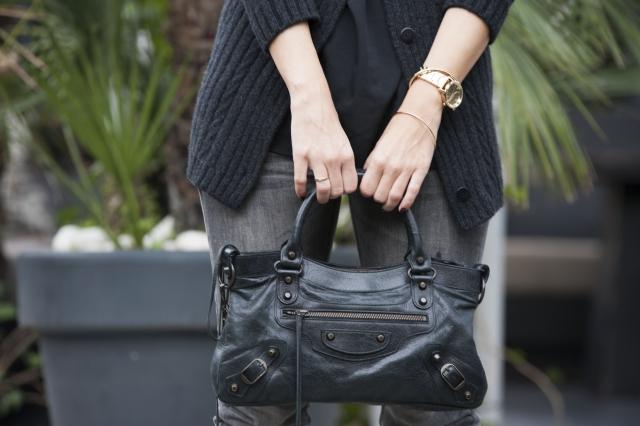 Bolso negro Balenciaga