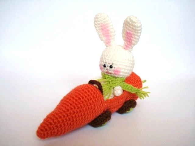 Amigurumi Carrot : AllSoCute Amigurumis: PDF Amigurumi Crochet Bunny and ...