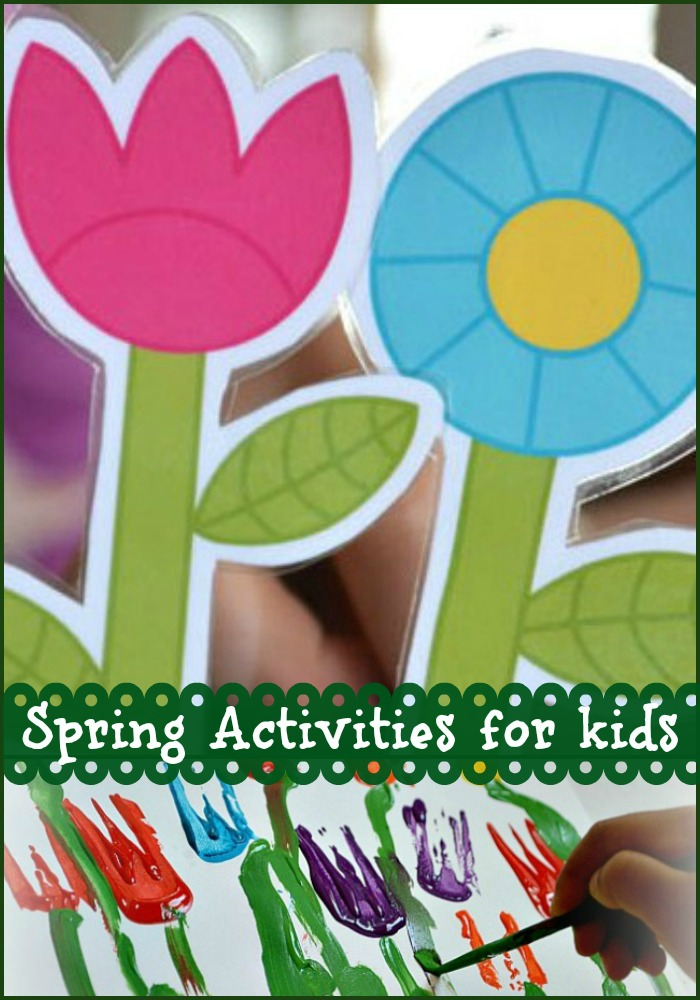 Learn with Play at Home: 10 Spring Activities for Kids.