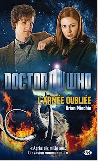 Novélisation de Doctor Who BBC Wales. critique L'armée oubliée de Brian Minchin. chronique du livre milady