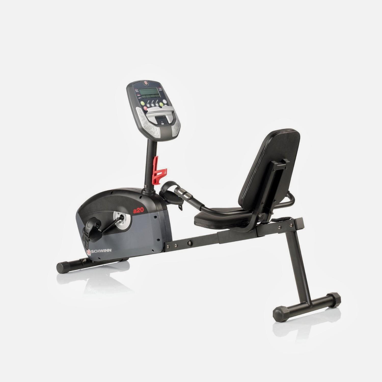 Exercise Bike Zone: Schwinn A20 Recumbent Exercise Bike Review