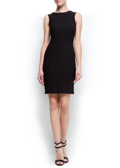 siyah düz kesim gece elbisesi