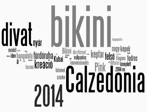 Fürdőruha divat 2014 - Calzedonia fürdőruha divat 2014 képek