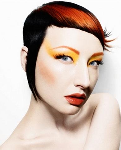 Orange Hair Highlights 2014