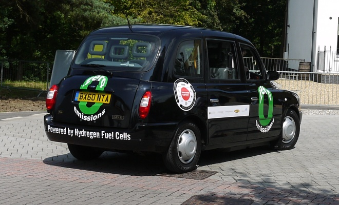 Fuel cell black cab