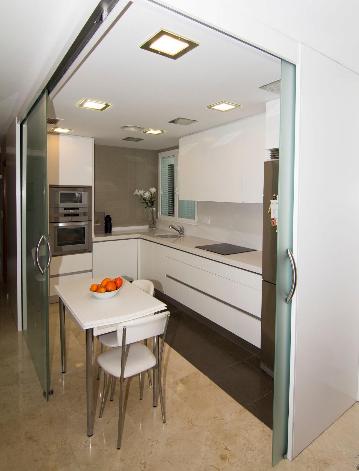 Nivel diez cocina abierta al sal n - Cocinas pequenas abiertas al salon ...