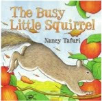 bookcover of THE BUSY LITTLE SQUIRREL by Nancy Tafuri