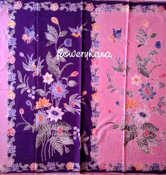 Flowery Hana Boneka Bantal Batik July 2014
