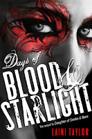 book cover of Days Of Blood And Starlight by Laini Taylor