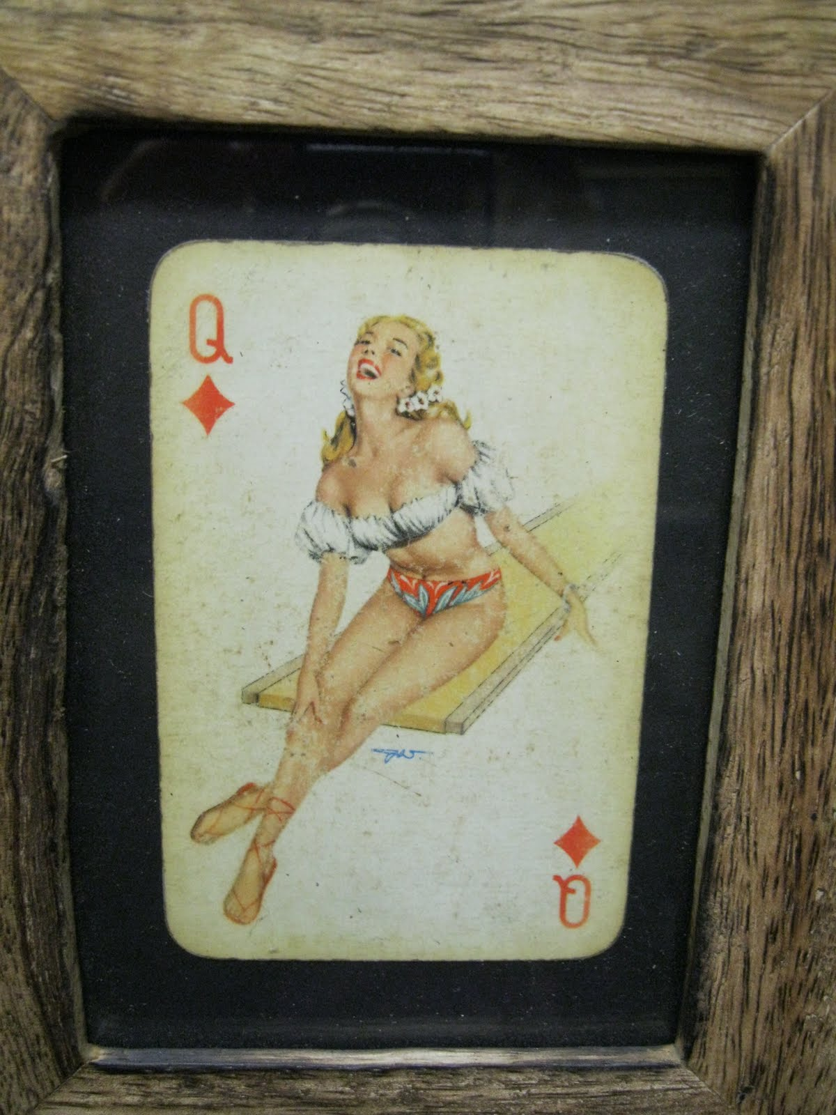 art card deck erotic history playing stacked