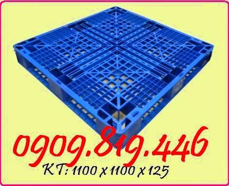 Pallet nhựa 1100 x 1100 x 125