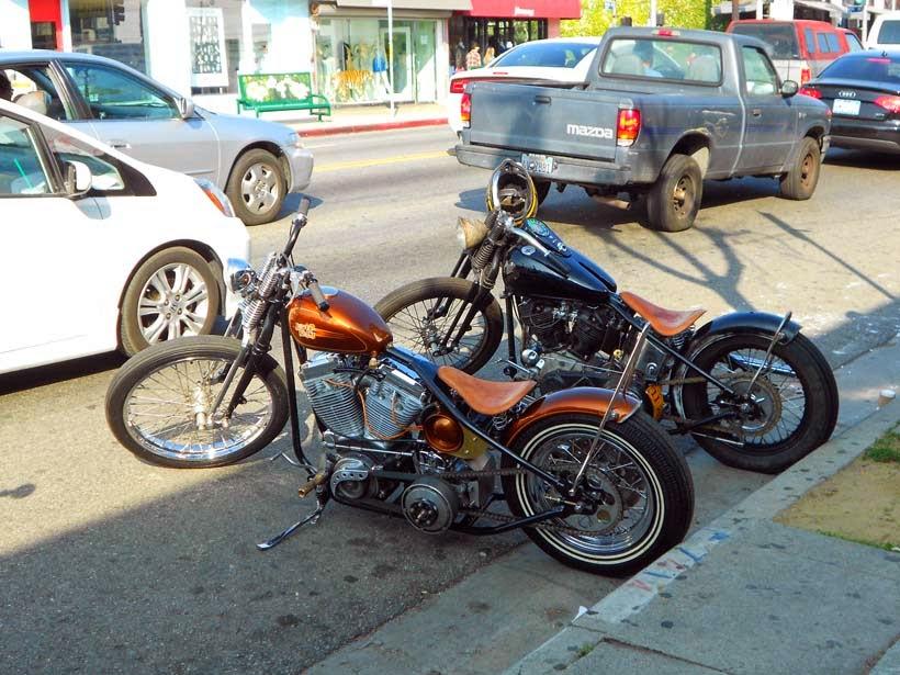 La Harley del tatuador