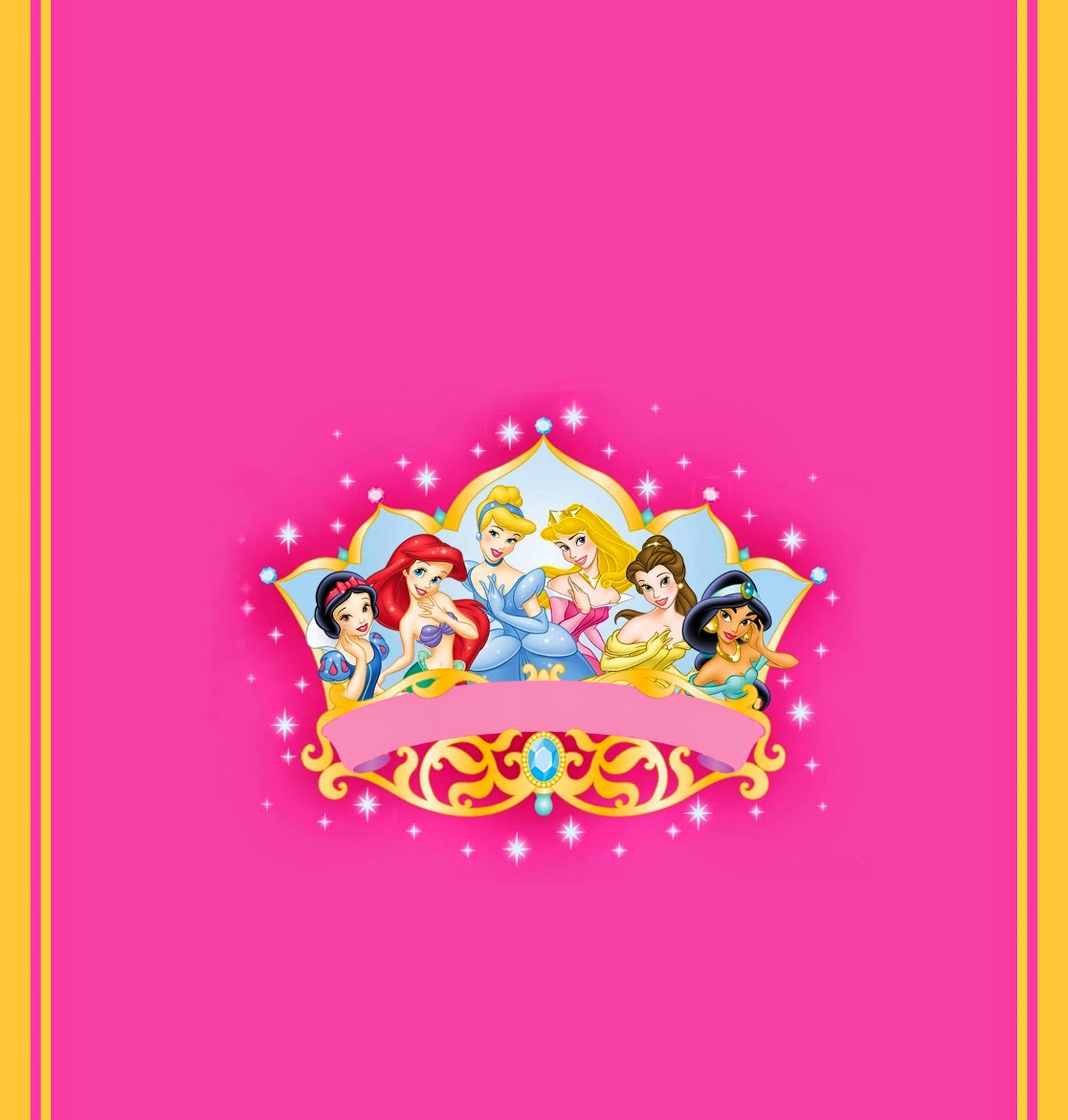 Disney Princess: Free Printable Chocolate Wrappers. | Oh My Fiesta ...