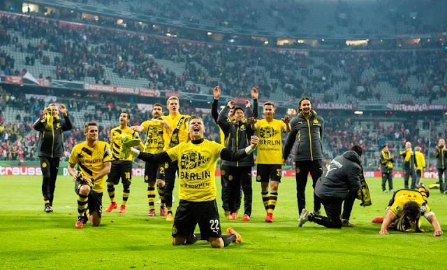 Dortmund acaba com o sonho bávaro e vai à decisão da Pokal
