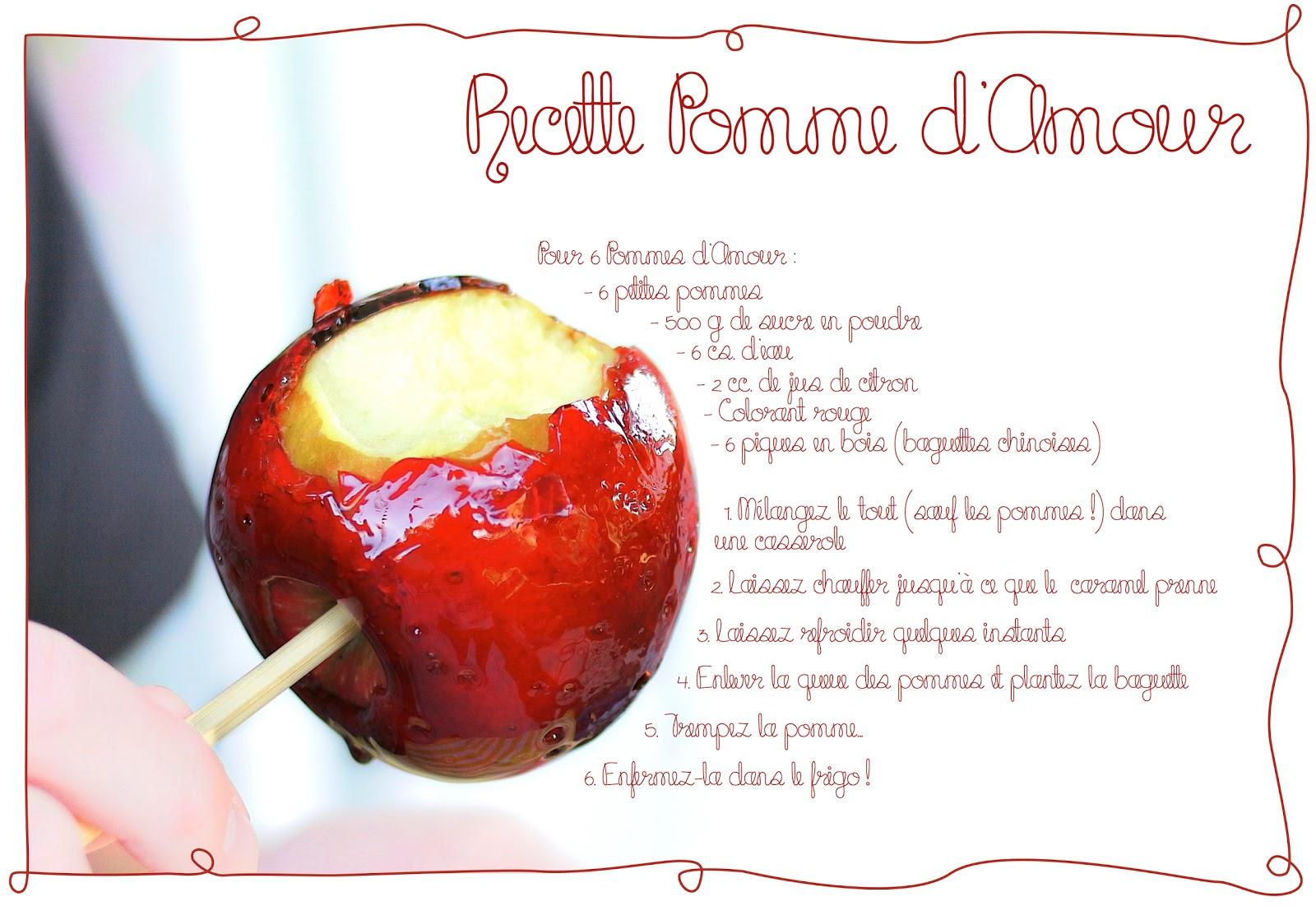 Recette+pomme+d'amour