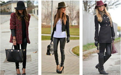 LOOKS CON SOMBRERO CELEBRTIES