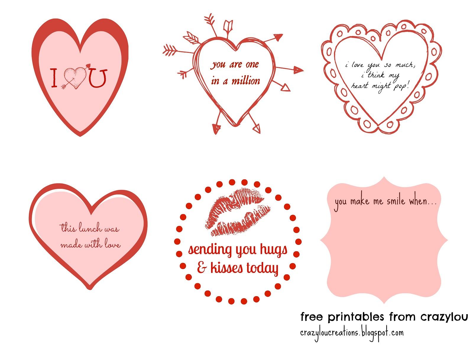 crazylou: FREE PRINTABLES!