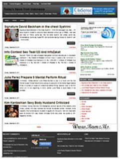 B-Seo V2 Template Blogger