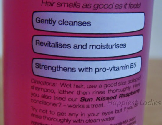 Alberto Balsam Herbal Shampoo Raspberry