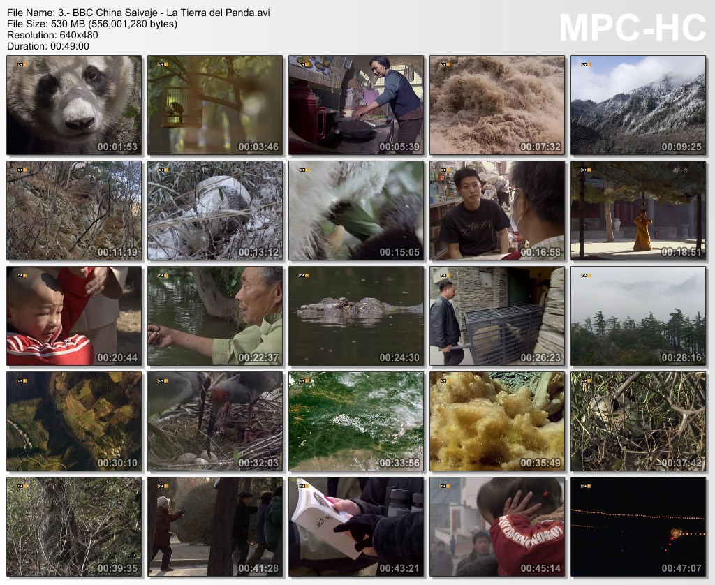 3GB|BBC|China Salvaje|DVDRip|6 de 6|MEGA|Taykun7000