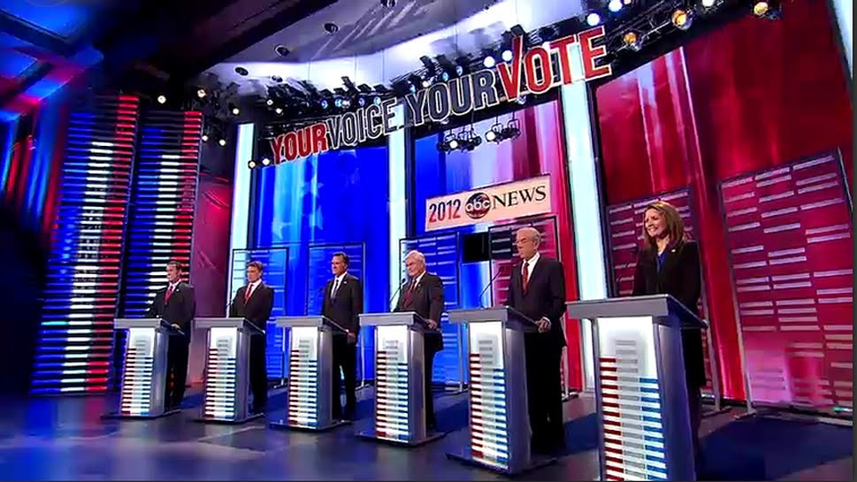 Iowa Republican GOP debate FULL DEBATE VIDEO 12/10/11