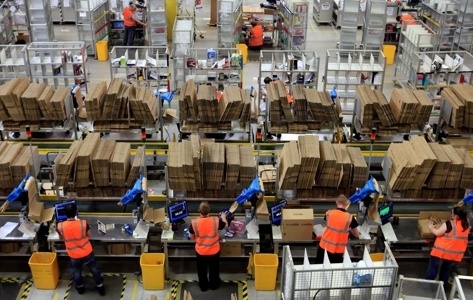 Largest Amazon Warehouse Largest Amazon Warehouses